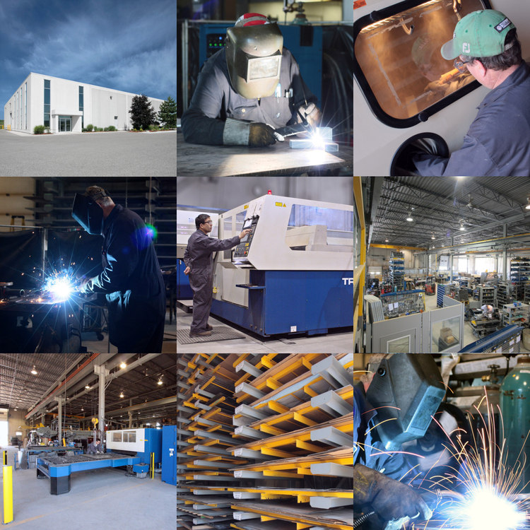 Some of the photos I have taken at and of the Muma Manufacturing facility for the website: welding, machining, sand-blasting, fabricating, and so on.
